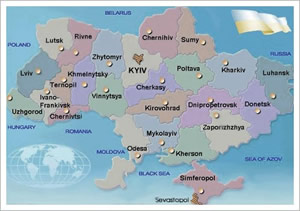 Ukraine tour cities